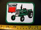 Embroidered Patch OLIVER TRACTOR vtg 1970's only one USA made agriculture