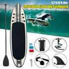 MOHOO Inflatable SUP Stand Up Paddle Board Paddle Pump  Carry Bag w Fin US