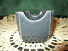 Fiesta Ware SLATE Gray/Grey  Sugar Pack Caddy Holder Business Card  NWT