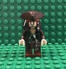 NEW 4193 LEGO Jack Sparrow Minifig with Tricorne Hat and Two Faces