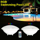 18W LED Swimming pool lights PAR56 bulb 12V AC DC RGB Remoter control IP68