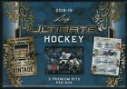 IN STOCK 2018-19 Leaf Ultimate Hockey Factory Sealed Hobby Box 3 Premium Hits!