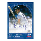 2019 TOPPS 150 YEARS OF BASEBALL #34A - RECORDS AND AWARDS AUTO 99 DON MATTINGLY