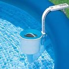 Deluxe Wall Mount Surface Skimmer Automatically Catching Leaves Pool Cleaner