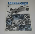 TAMIYA FERRARI 312T4 F1 BS1225 *PARTS* INSTRUCTION MANUAL 1/12
