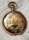 Absolutely gorgeous Vintage Southbend Multicolored Case And Dial Pocket watch