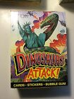 Dinosaurs Attack rare vintage full box of cards