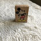 Disney Classic MICKEY MOUSE Rubber Stampede 374 D RARE DISNEY rubber stamp USA