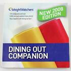 Weight Watchers Dining Out Companion 2008 Points Values Core Plan Foods