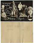 Heverly the Wizard Christmas Postcard Multiple images circa 1920s vFINE Pp