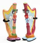 Musical Muse Harp String Instrument Salt and Pepper Shakers