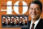 Liberia 2011 - RONALD REAGAN 100TH BIRTHDAY ANNIVERSARY - Sheet of 3 Stamps  MNH