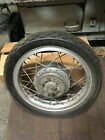 Bultaco Metralla 250 Complete Rear Wheel W/ Axle And Brake