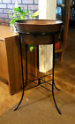 Dos Equis Antique Rustic Hammered Beverage and Ice Bucket with Iron Stand