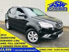 2012 Ssangyong Korando 20 TD AWD S Full Leather Sunroof 2 Owners