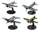 Set of 4 Aircrafts US Air Force WW2 172 Military plane diecast DeAgostini