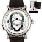 MontBlanc Nicolas Rieussec Chronograph GMT 7138 40mm Silver Stainless Watch