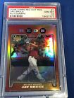 2008 Topps Chrome Red Hot Autograph Auto #1 JAY BRUCE Reds Rookie card PSA 10