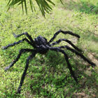 200CM 66FT Plush Giant Spider Decoration Halloween Haunted House Garden Props