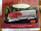 Hallmark 1997 LIONEL TRAIN 1950 SANTA FE F3 DIESEL Locomotive #2 SERIES Ornament
