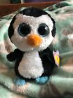 Ty Beanie Boo Boos Waddles the Penguin 6