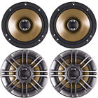 4 x POLK AUDIO DB651s 6 1 2 INCH 2WAY CAR BOAT MARINE AUDIO SLIM MOUNT SPEAKERS