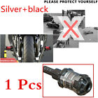 1 Pcs Aluminium Alloy Silver+Black Motorcycle Engine Falling Crash Protector