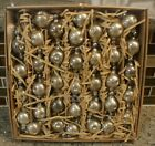 New Pottery Barn MERCURY BALL GLASS GARLAND Christmas Holiday 60 Long