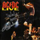 AC/DC Live, MALCOLM YOUNG +1 Thunderstruck Back in Black T.N.T. Autograph SIGNED