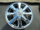16 2005 TO 2008 BUICK ALLURE AND LACROSSE 8 SPOKE CHROME ALLOY WHEEL 4055 OEM