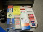 Advertising Notepads-Stanley-Baugh's-Royster-Amoco-Roebling-Kaiser-Arcadian