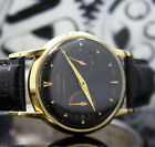 Jaeger-LeCoultre Futurematic Power Reserve Back Winding Steel Vintage Watch