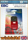 EBC Front TT Brake Pad Derbi Atlantis 50 Two Chic (AC/2T) 2005 FA115TT