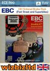 EBC Rear HH Brake Pad Malaguti Madison 125-3 2006-2009 FA266HH