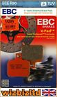 EBC Front V Brake Pad Derbi GP1 50 Race 2005-2007 FA266V