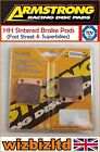Armstrong Rear HH Brake Pad CCM C-XR 125 S 2008-2009 PAD320044