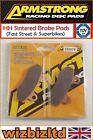Armstrong Front HH Brake Pad CCM C-XR 230 M 2007-2009 PAD320076