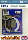 EBC Rear SFA Brake Pad Borile B 500 MT 2002 SFA213