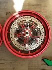 15-18 Aprilia RSV4 RR RF FACTORY FRONT FORGED WHEEL RIM ROTORS DISC OEM MINT