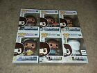 6 Figure BOB ROSS Funko POP! Lot!! Includes Exclusives and CHASE!!