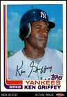 1982 Topps Traded #40 Ken Griffey T Yankees NM MT