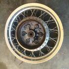 1996 Suzuki Intruder 800 VS800 Rear Wheel Spoked Rim Complete Used Chrome Back