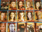 FIREFLY Complete Base Set Of 72 Trading Cards Serenity,Joss Whedon,Summer Glau