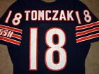 VTG AUTHENTIC 80's MIKE TOMCZAK CHICAGO BEARS NFL SAND-KNIT JERSEY 40 RARE!