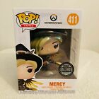 Funko Pop! Games Overwatch Mercy Blizzard Exclusive MINT w PROTECTOR
