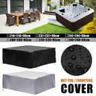 US 6 Size Portable Hot Tub Spa Cover Outdoor Waterproof Dust Protector Case