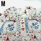 Lularoe Jessie M White Patchwork Pink Red Blue Floral NWT