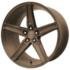 4 Verde V09 Spry 20x9 5x45 +30mm Bronze Wheels Rims