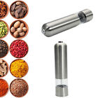 Lot2 Stainless Steel Electric Automatic Pepper Mill Salt Grinder Pepper Mills