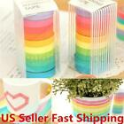10 100 Washi Tape Set Masking Tape Scrapbook Decorative Paper Adhesive US
